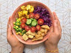 Rainbow Veggie Bowl Recipe