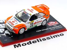Rally Altaya 1:43 Ford Escort RS Cosworth No.23, Rally Monte Carlo Puras/Romani 1994   www.modelissimo.de