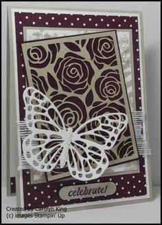 Artisan Embellishment Kit and Butterfly Framelits