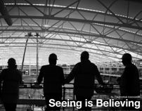 Seeing is Believing by Sam Williams, via Behance