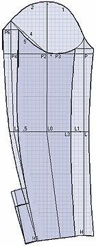 """Примеры моделей жакетов разработанных на основах рассчитанных в программе """"Закройщик"""""""