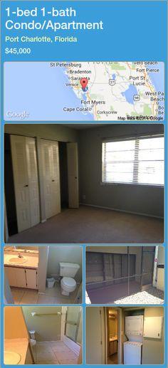 1-bed 1-bath Condo/Apartment in Port Charlotte, Florida ►$45,000 #PropertyForSaleFlorida http://florida-magic.com/properties/48848-condo-apartment-for-sale-in-port-charlotte-florida-with-1-bedroom-1-bathroom