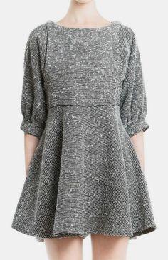 W Essential Volume Mini Dress