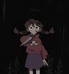 it's madotsuki aaaAAAA -a Cartoon Kunst, Anime Kunst, Cartoon Art, Anime Art, Kunst Inspo, Art Inspo, Pretty Art, Cute Art, Art And Illustration