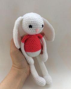 """15 Likes, 1 Comments - Raluca Drugan (@mygoldencrochet) on Instagram: """"#handmade #mygoldencrochet #crochetbunny #easterbunny #crocheteasterbunny #easter #babytoys…"""""""