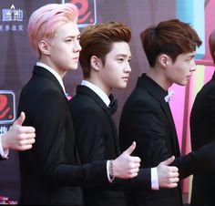 KyungSoo, SeHun & YiXing