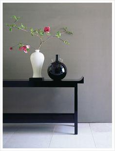 J. Robert Scott, American furniture designer. Credenza Coffee Table Side Table
