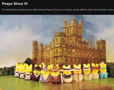 Downton Abbey in Peeps!