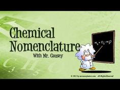 Chemistry - How to Name Ionic and Covalent Compounds
