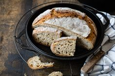 Kenwood Cooking, Baguette, Grill Pan, Diy Food, Bread Recipes, French Toast, Grilling, Cookies, Baking