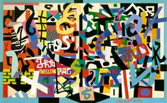 Stuart Davis The Mellow Pad 1945-51 (180 Kb); Oil on canvas, 26 x 42 in; Brooklyn Museum, New York Lowenthal, New York