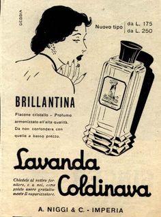 IL VECCHIO: Pubblicità farmaci e profumi, Lavanda Coldinava2