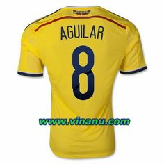 No.8 - Aguilar, Colombia 2014 World Cup