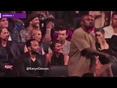 Kanye dancing to One Direction - What Makes You Beautiful http://youtu.be/v8t6UBZATas