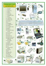 Printables Computer Technology Worksheets english teaching and computers on pinterest worksheets peripherals