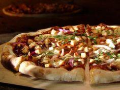 Guy Fieri's BBQ Chicken Pizza with Cowgirl Creamery's Mt. Tam #recipe