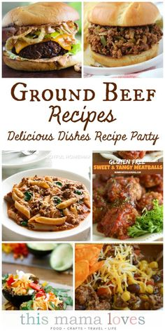 Ground beef recipes for family dinner - a Delicious Dishes Recipe Party with Food Fun Family Turkey Recipes, Chicken Recipes, Cabbage Recipes, Potato Recipes, Soup Recipes, Lasagna Recipes, Eggplant Recipes, Spinach Recipes, Avocado Recipes