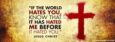 They Hated Me First [Christian Facebook Timeline Cover Photo]