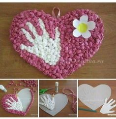 Frog Crafts, Diy And Crafts, Kids Crafts, Arts And Crafts, Paper Crafts, Valentine Crafts For Kids, Mothers Day Crafts, Valentines, Mother And Father