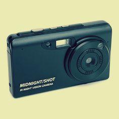 Night vision camera think geek