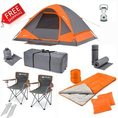 Ozark Trail 22 piece Camping Combo Set * Check out this great product. (This is an Amazon Affiliate link and I receive a commission for the sales)