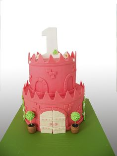 Princess Castle Cake, Princess Theme Party