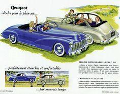 1952 Peugeot 203 Cabriolet & Berline
