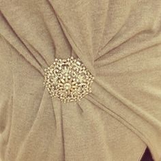 CREATE A NEW SILHOUETTE WITH YOUR BROOCH  SHOP NOW: http://www.mayvedavintagejewellery.co.uk/jewellery/vintage-brooches