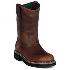 Special Offers Available Click Image Above: Georgia Boot Waterproof Wellington (men's) - Red Brown Soggy Leather Pull On Work Boots, Steel Toe Work Boots, Duty Boots, Georgia Boots, Womens Boots On Sale, Hunting Boots, Boots Online, Cool Boots, Boots