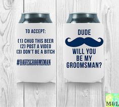 #Personalized #koozies for ANY occasion! Get creative and #customize your #koozies!