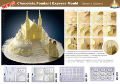 Chocolate chateau mold
