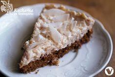 LEHKÝ CUKETOVÝ DORTÍK S KOKOSEM Love Cake, Tiramisu, Cauliflower, Cheesecake, Good Food, Food And Drink, Pie, Healthy Recipes, Healthy Food