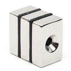 Hakkin 3pcs Block N52 Rectangular Cuboid Magnet Rare Earth Neodymium Permanent Magnet Very Powerful Acoustic Field Speaker  EUR 7.66  Meer informatie  http://ift.tt/2wrliip #aliexpress