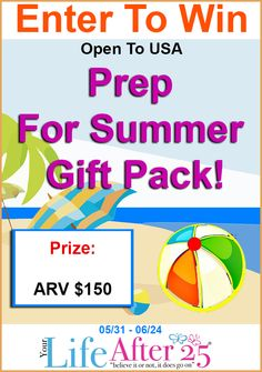 Enter to win @YourLifeAfter25's #PrepForSummer Gift Pack #Giveaway! via @WeightWatchers #ad
