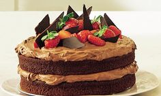Fearne Cotton: Death by chocolate cake