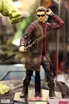 Les costumes d'Avengers : Age of Ultron dévoilés par Hot Toys