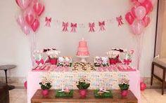 Resultado de imagem para decoração aniversario adulto rosa