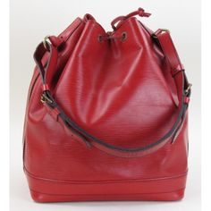 Louis Vuitton Red Epi Leather Noe Bag $599