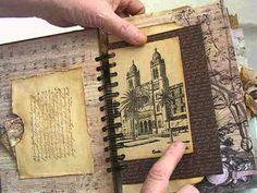 Antiquities Vintage Junk Journal