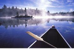 Do Canoe in Algonquin provincial park, Canada