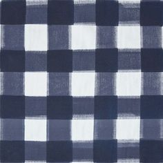 "A classic check re-invented in shades of navy. Colors - NavyHorizontal Repeat - 23"" Vertical Repeat - 22 3/4"" Fabric Width - 59"" Fabric Content - 100% cotton ca:"