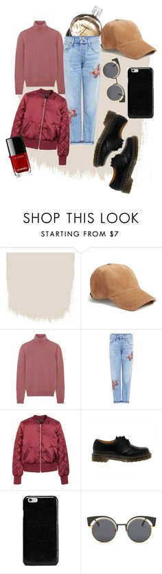 """pab"" by xxelectre on Polyvore featuring moda, Chanel, rag & bone, Bottega Veneta, Citizens of Humanity, H&M, Dr. Martens e Maison Margiela"