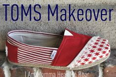 TOMS Shoe Makeover