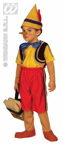 Carnival-costumes: Children:  Pinocchio
