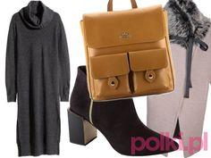 Stylizacja z dzianinową sukienką - #5 #polkipl #stylizacje