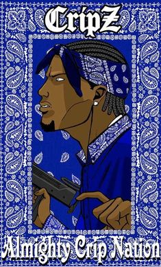 cripz the opposites of the bloods representing blue and killing and dying for a simple color. A gang that was just started as friends getting together evolved to something based on hate. Blood Wallpaper, Rap Wallpaper, Smoke Wallpaper, Arte Do Hip Hop, Hip Hop Art, Black Guerrilla Family, Crip Tattoos, Gangster Drawings, Chicano Art