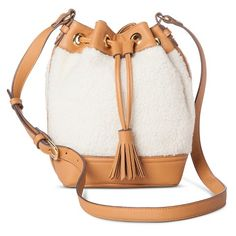 Adam Lippes for Target shearling bucket bag