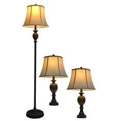 Mae Table And Floor Lamp Set Bronze - Decor Therapy Laminate Flooring Sale, Cheap Wood Flooring, Vinyl Flooring, Traditional Floor Lamps, Light Bulb Wattage, Table Lamp Sets, Living Spaces, Living Room, Interiors