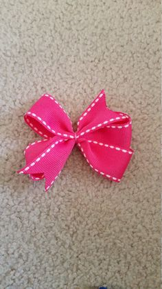 Check out this item in my Etsy shop https://www.etsy.com/listing/264153078/pink-hair-bow
