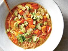 Veggie-Quinoa Soup